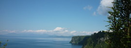 View from Whakaipo Bay Taupo