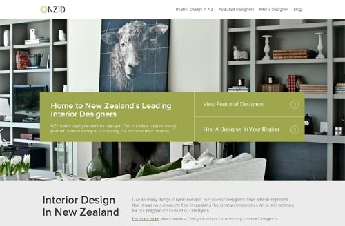 New Zealand Interior Designer