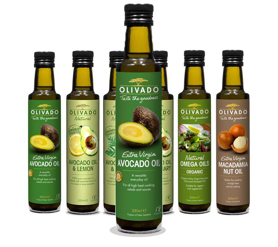 olivado range avocado oils