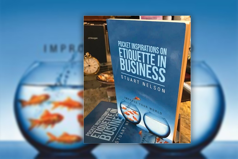 etiquette in business book