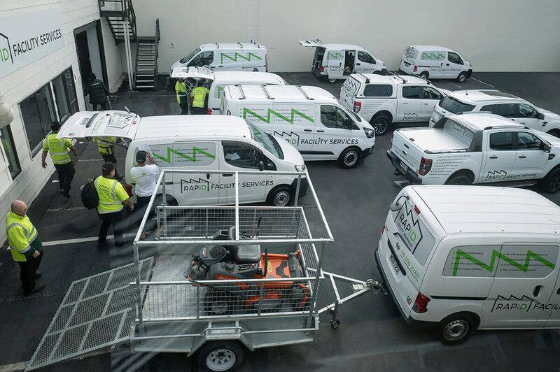 Rapid Facility service commercial and industrial