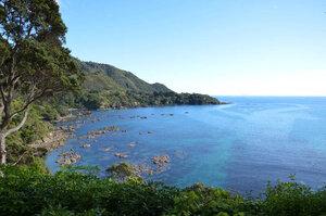 Ohiwa Bay scenery East Cape NZ